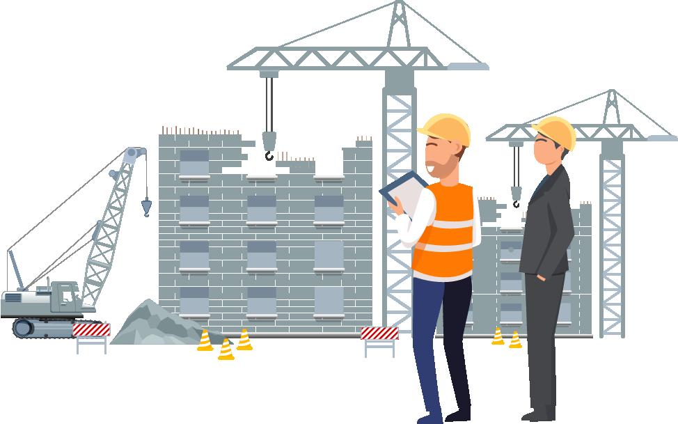 Bouw communicatie - Arinto - Optimaliseer uw personeel, materieel en materiaal