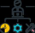 Taakplanning - Onze oplossingen | Arinto - Optimaliseer uw personeel, materieel en materiaal